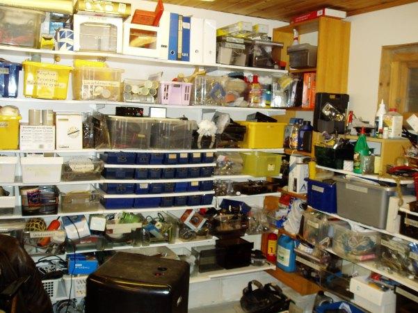 Velutstyrt, bil, båt, vaskemaskiner, alt finnes her.