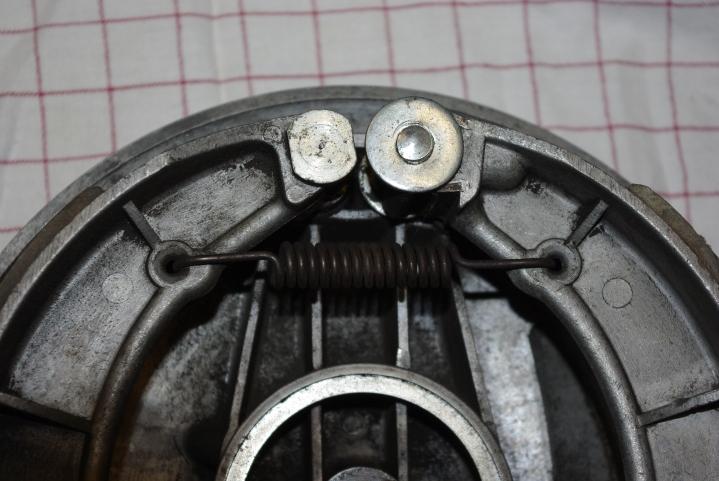 Detalj av bremsesystemet