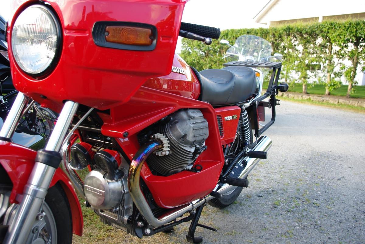 Moto Guzzi Jæren – du er aldrialene.
