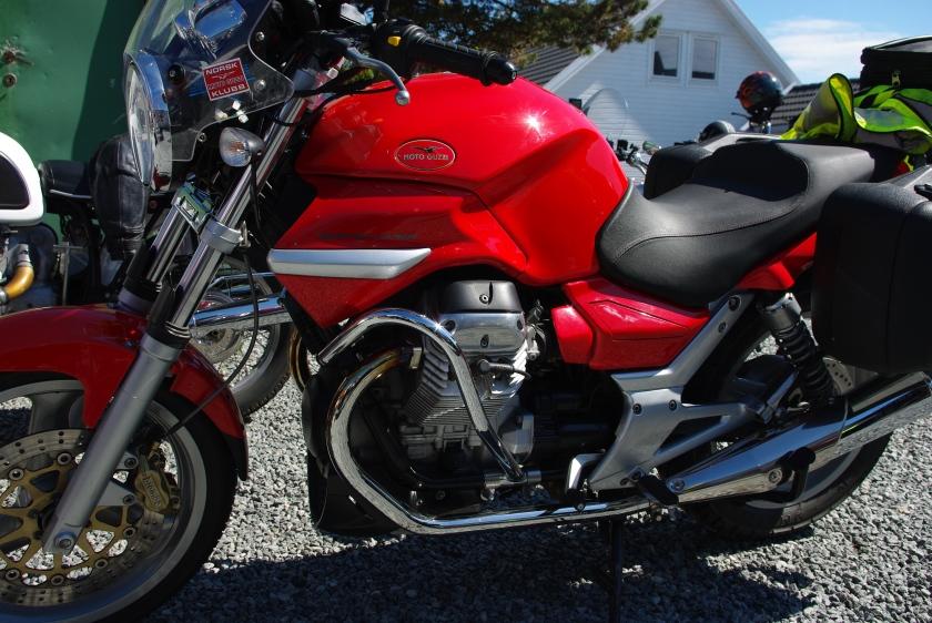 Moto Guzzi Breva 750 i perfekt stand.