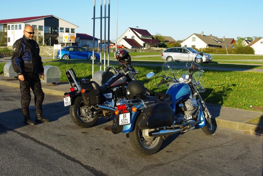Guzzi og Honda. Noen bedre?