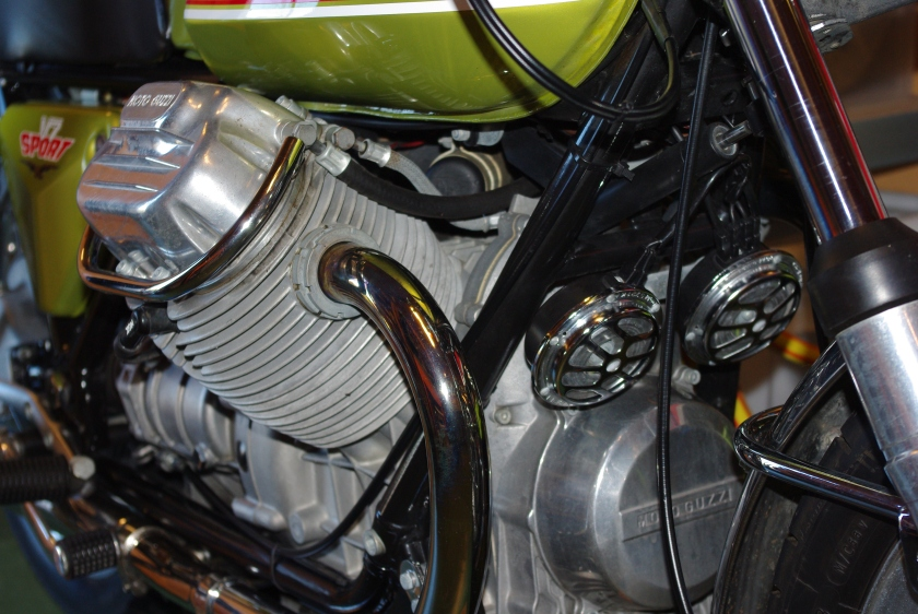 Detalj av motor
