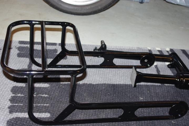 Craven bagasjebrett ble også svart.