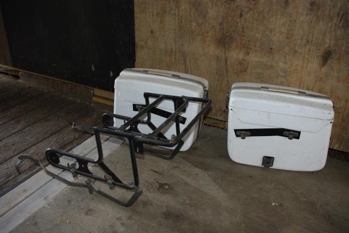 Innkjøpt på Finn. Craven bagasjesystem.