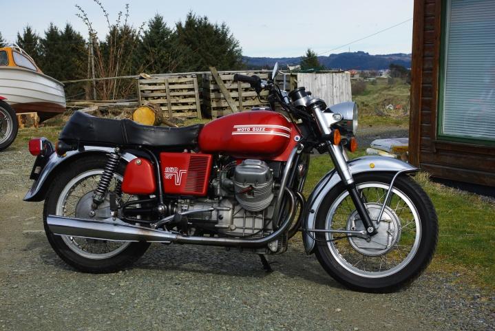 Moto Guzzi 850 GT 1973.