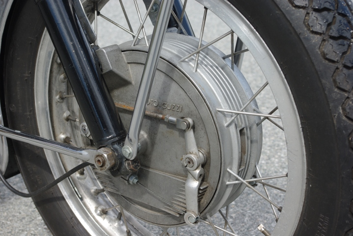 4LS bremser, doble trommelbremser.