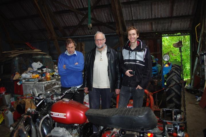 Fra venstre: Johan Havn, Anders Mjånes, Daniel Spilling Mjånes.