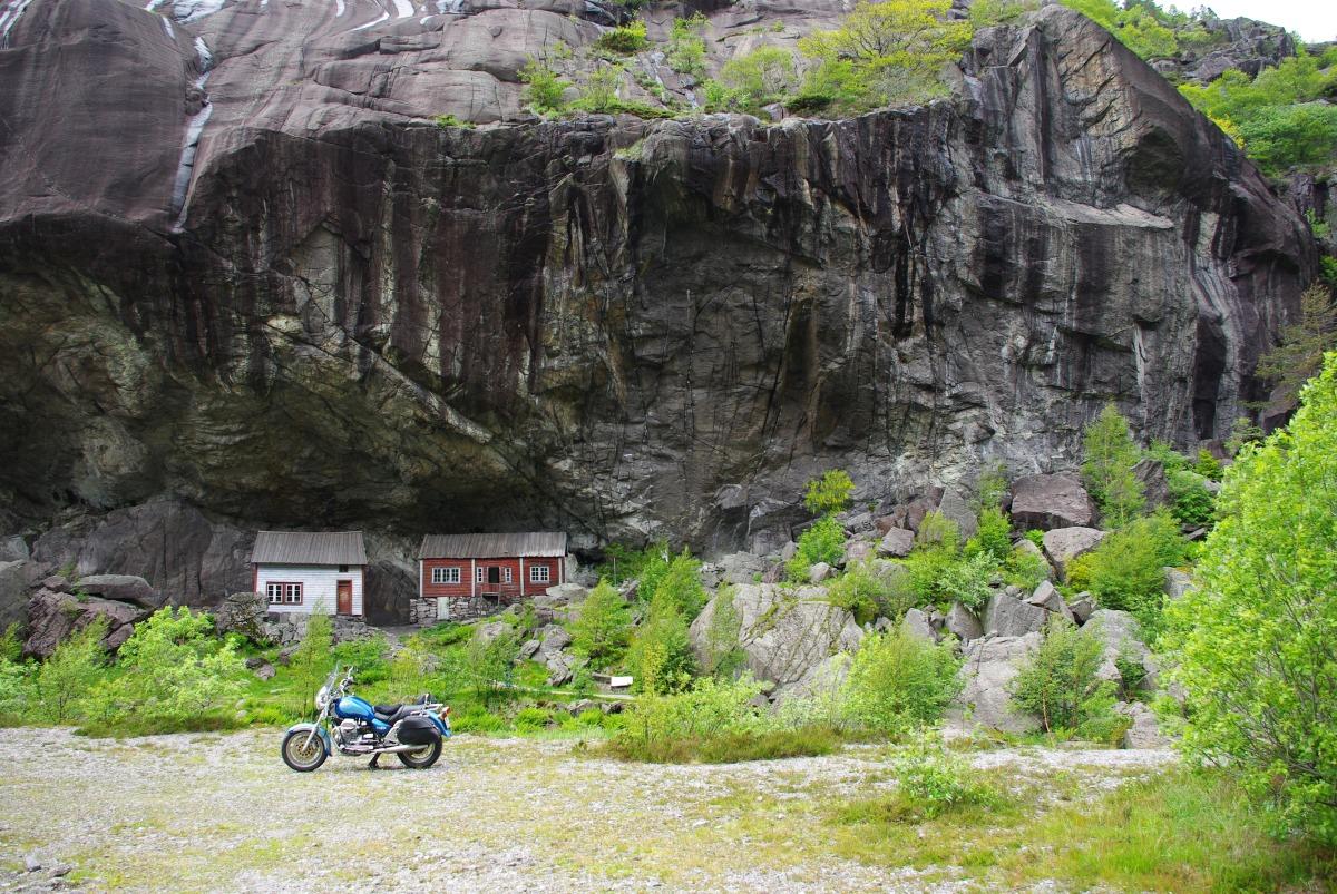 På tur med min blå California- Nordsjøvegen fra Egersund tilFlekkefjord