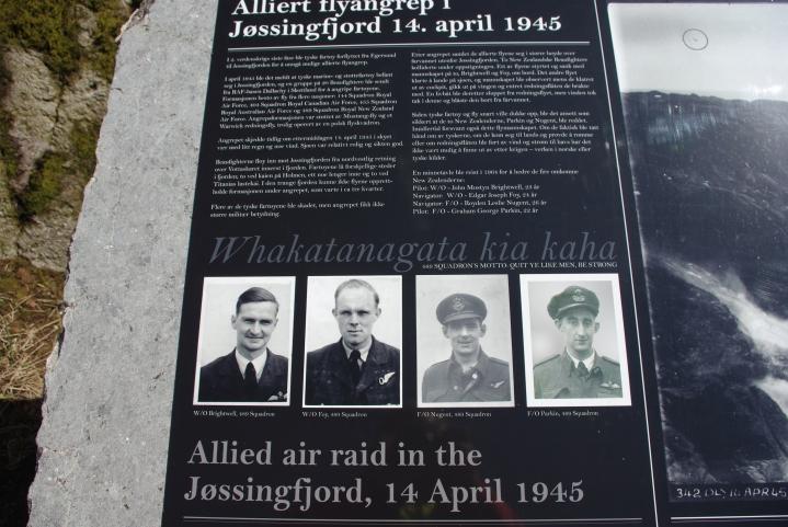 Flyraidet i april 1940.