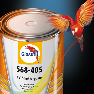Glasurit 568-405 CV-Strukturpaste.