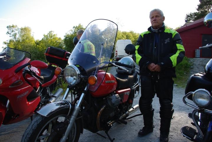 Tom M. Ånestad med sin G5.