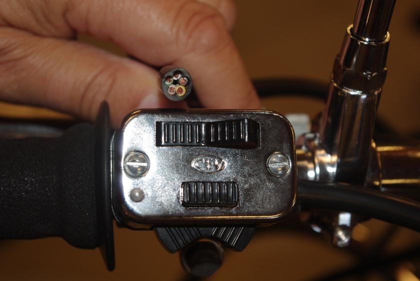 Bryter med tilhørende ledningsett