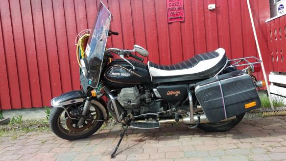 Moto Guzzi California II, 1986