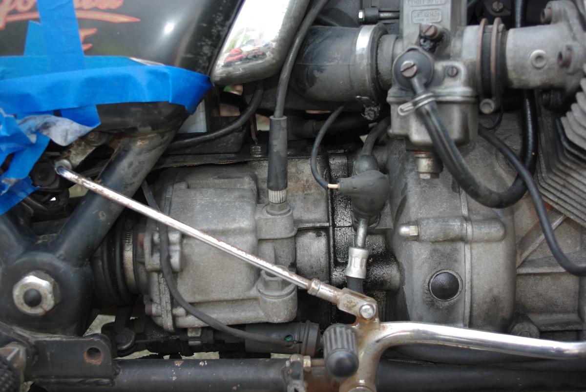 Min nye Moto Guzzi California II –Convert
