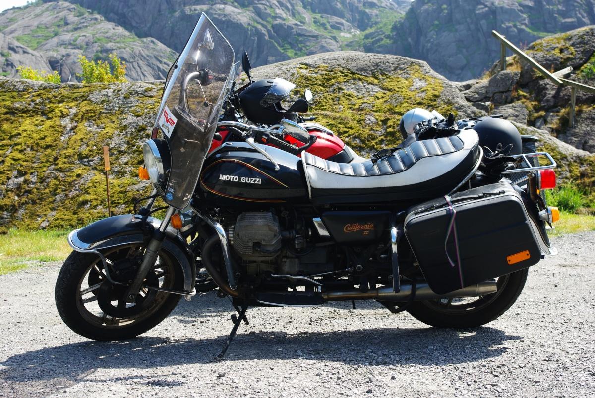 Moto Guzzi California II Convert – en historie forseg.